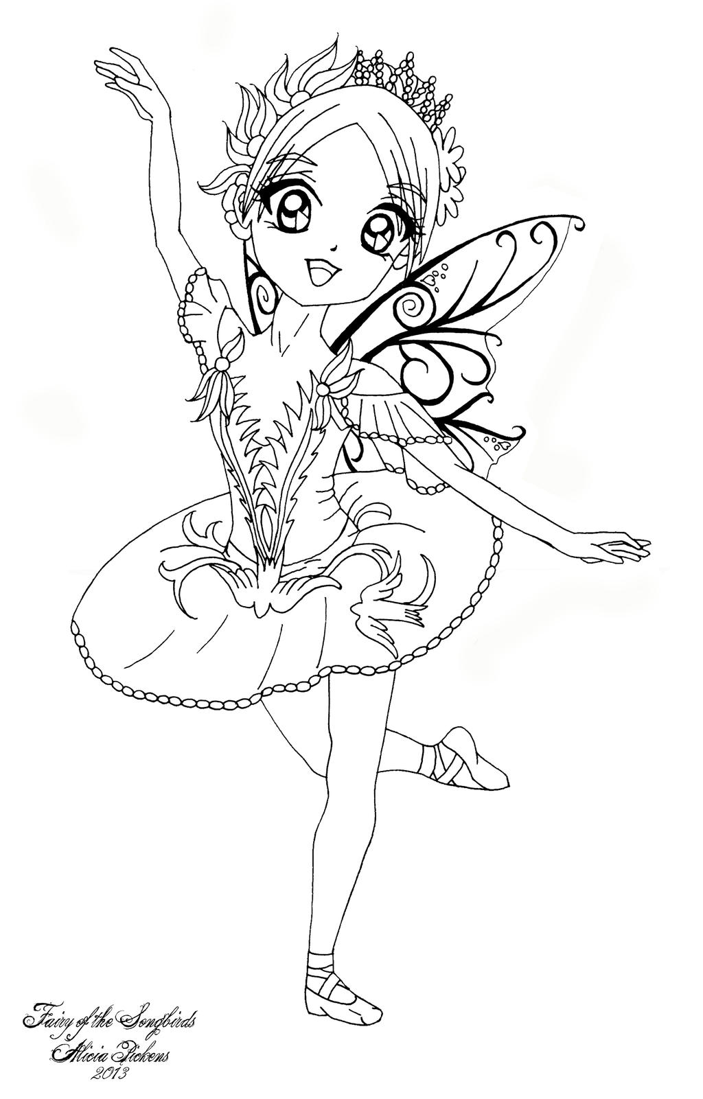 Fairy of the Songbirds by LicieOIC on DeviantArt