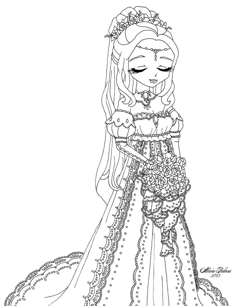 coloring pages princess bride - photo#28