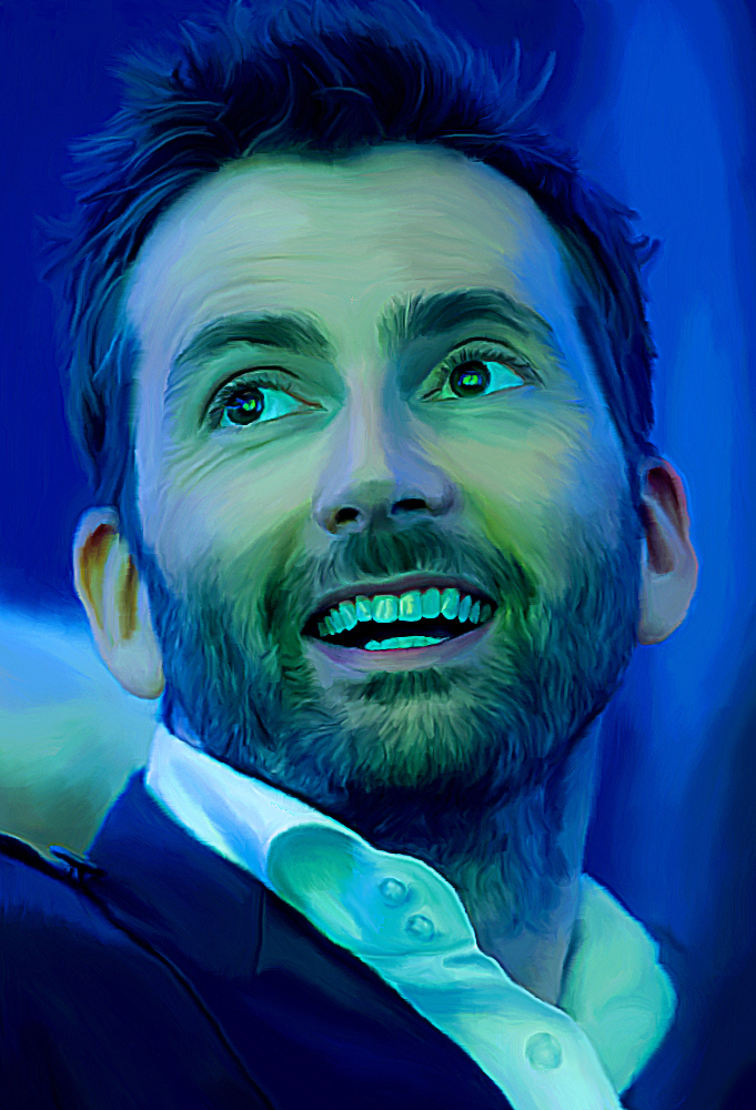 David In Blue by LicieOIC