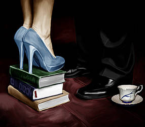 Killer Heels and a Chipped Cup