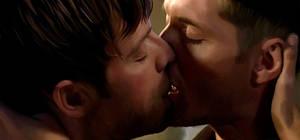 Painted Destiel: Kiss 2