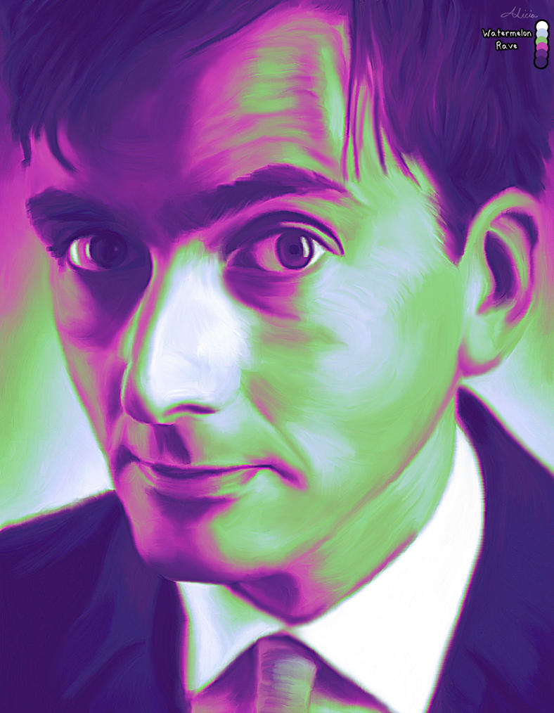 David Tennant in Watermelon Rave by LicieOIC