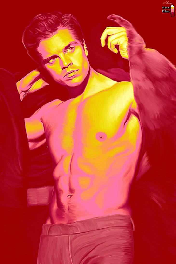 Sebastian Stan in Warm Colors by LicieOIC