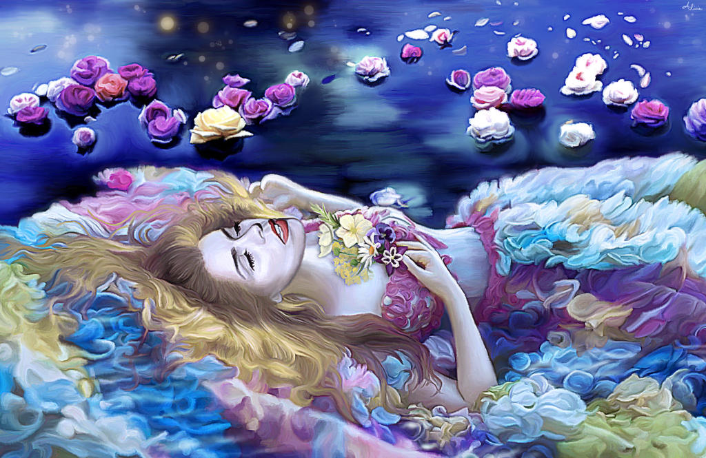 Too Much of Water Hast Thou, Poor Ophelia by LicieOIC