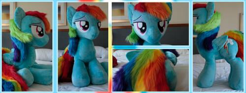 Life-Size Rainbow Dash 2 by Joltage
