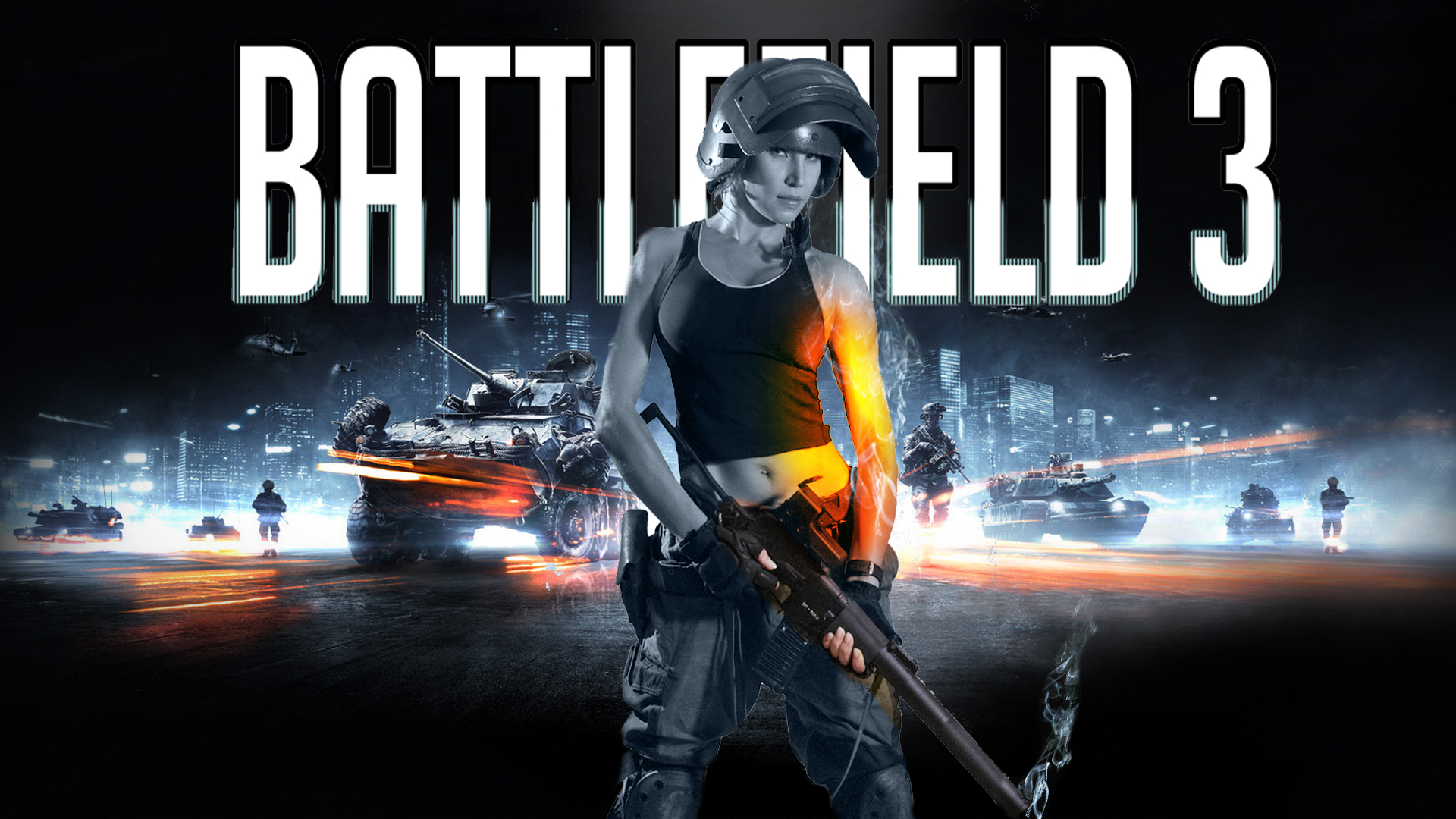 battlefield 3 poster girlbillym12345 on deviantart