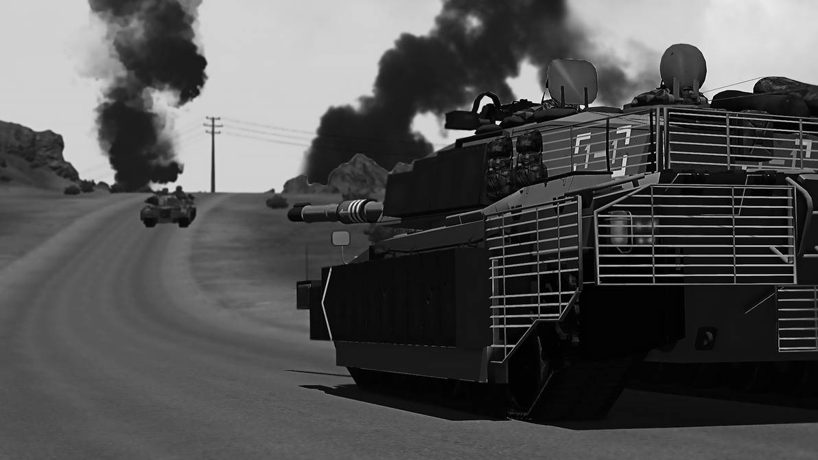 ARMA 3 - Challenger 2 Platoon On The Move by BillyM12345 on DeviantArt
