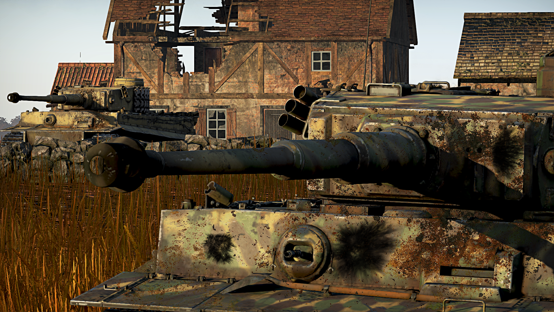 Tigers in Action - War Thunder (1920x1080) by BillyM12345 ...