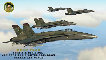 Ace Combat Zero // Grun Squadron by BillyM12345