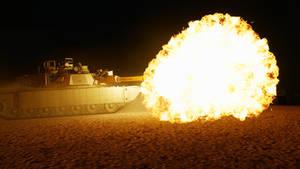 Abrams Night Combat #1 // ARMA 3
