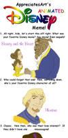 Appreciates Art Disney meme