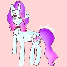 galaxy pony by galaxygirl123555