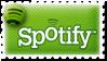 Spotify stamp by ColourVegan