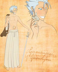 Grimmjow for AwakeAndUnafraid