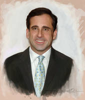 Mr. Steve Carell by Imaginesto