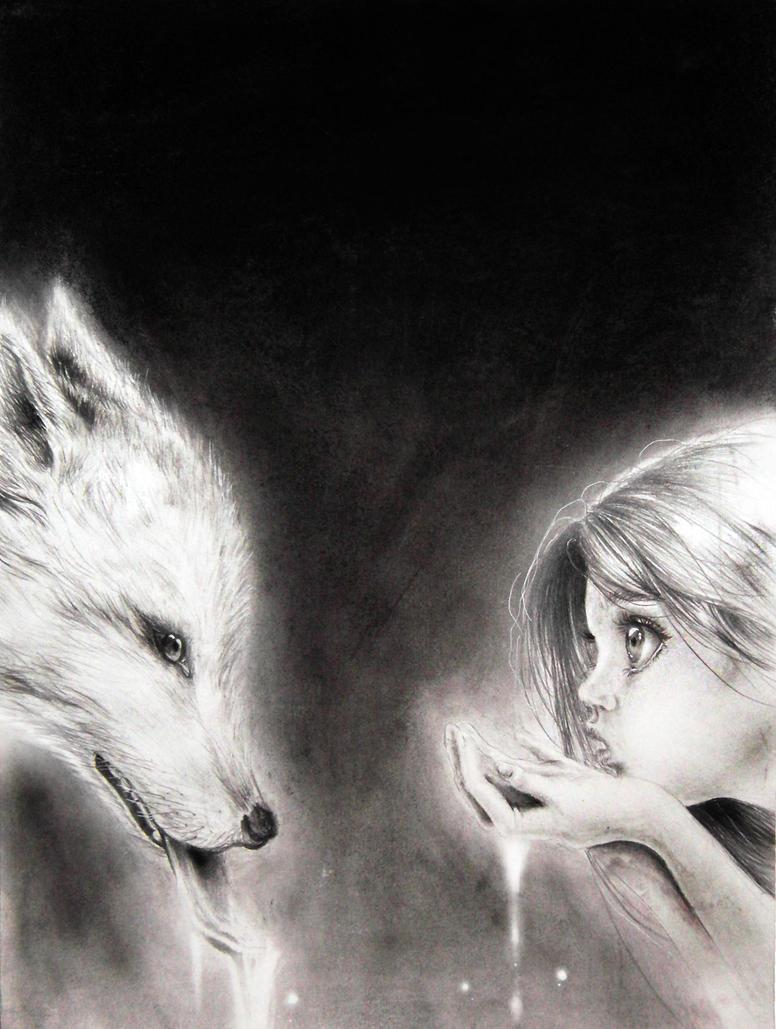 La Fille Et Le Loup by Krisallys