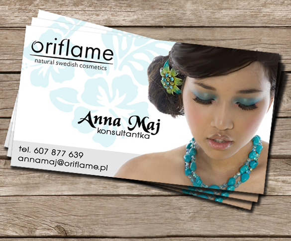 Business card oriflame by candrika108 on deviantart business card oriflame by candrika108 colourmoves