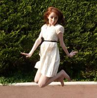 Jumping by senzostock
