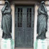 Pere Lachaise - Door 25 by senzostock