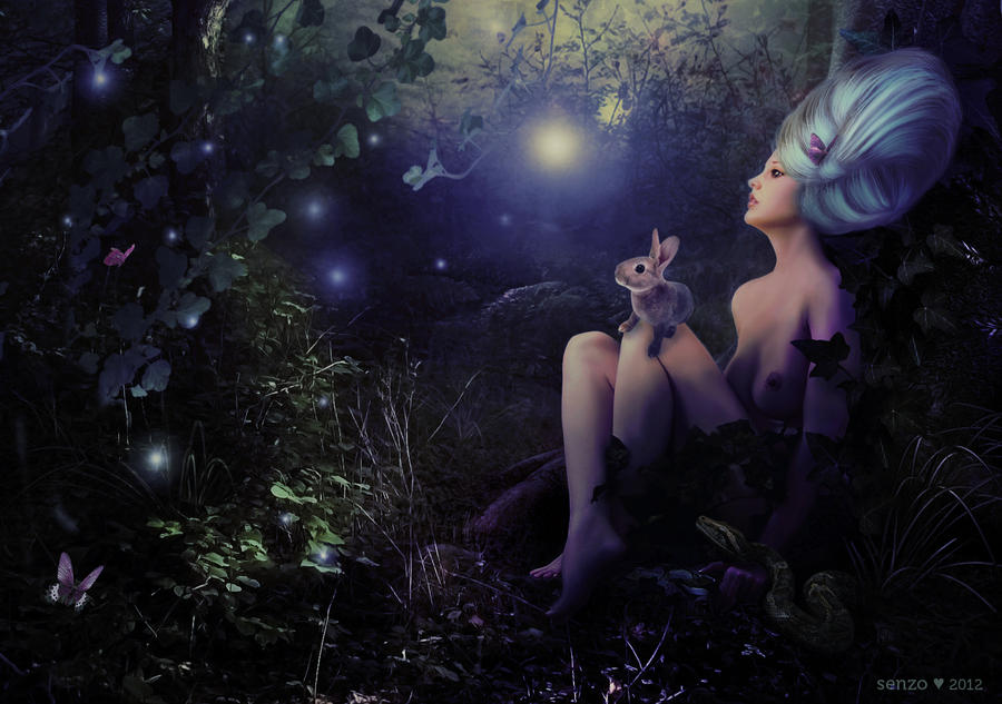 La nuit by senzostock
