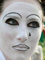 Pierrot by senzostock