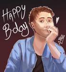 Happy Birthday Damon Albarn by elenorlamaga