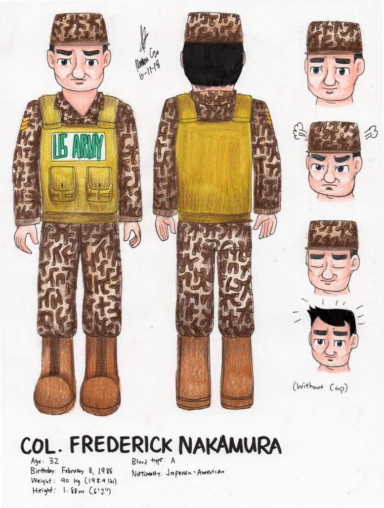 Colonel Carr Concept Art by MatthewGo707