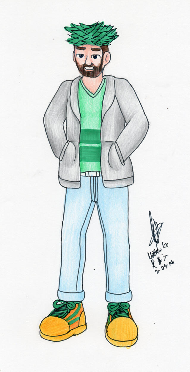 JackSepticEye in fashion attire by MatthewGo707
