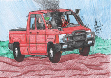 Mark and Jack offroading by MatthewGo707
