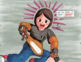 Defeat by Mii Swordfighter by MatthewGo707