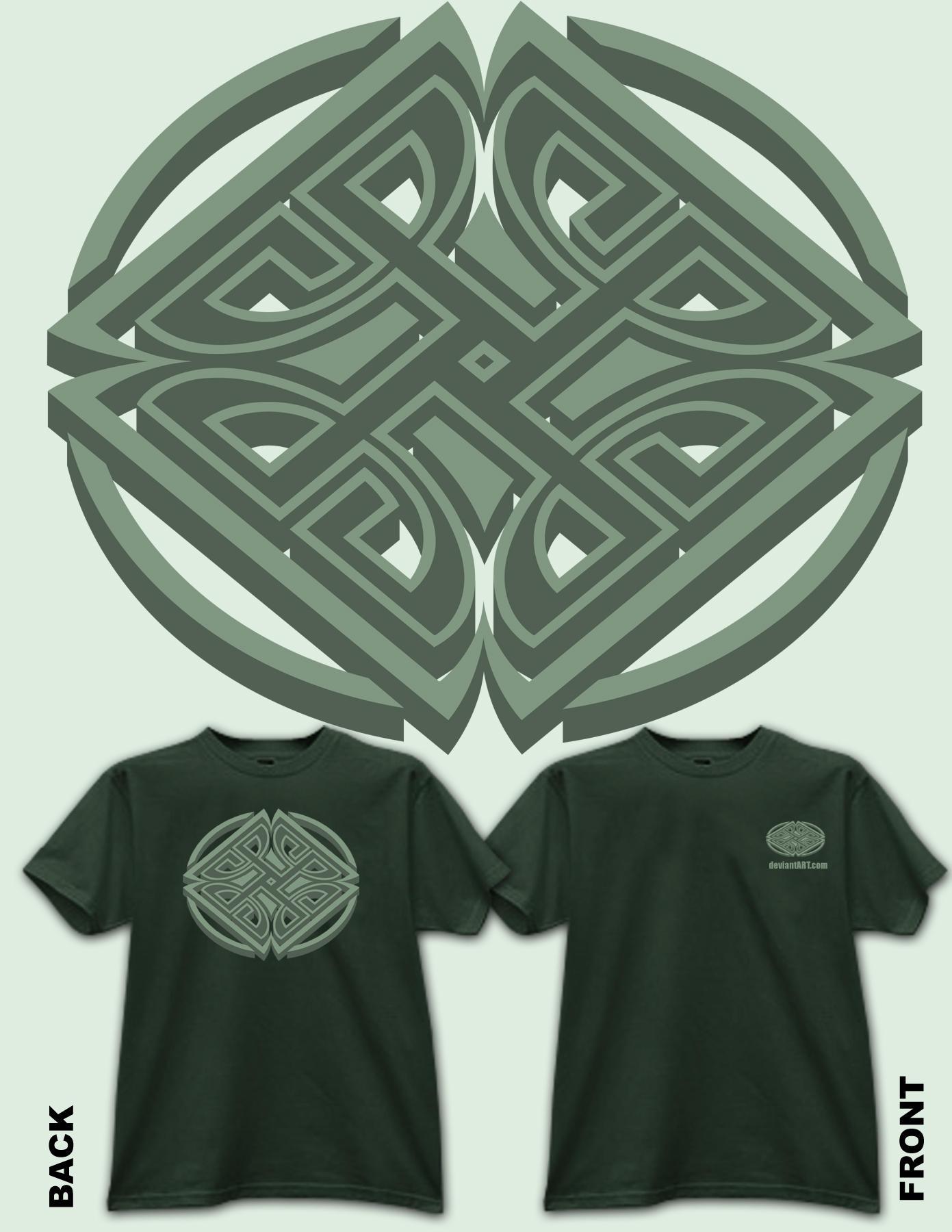 da shirt design 3d by reyjdesigns