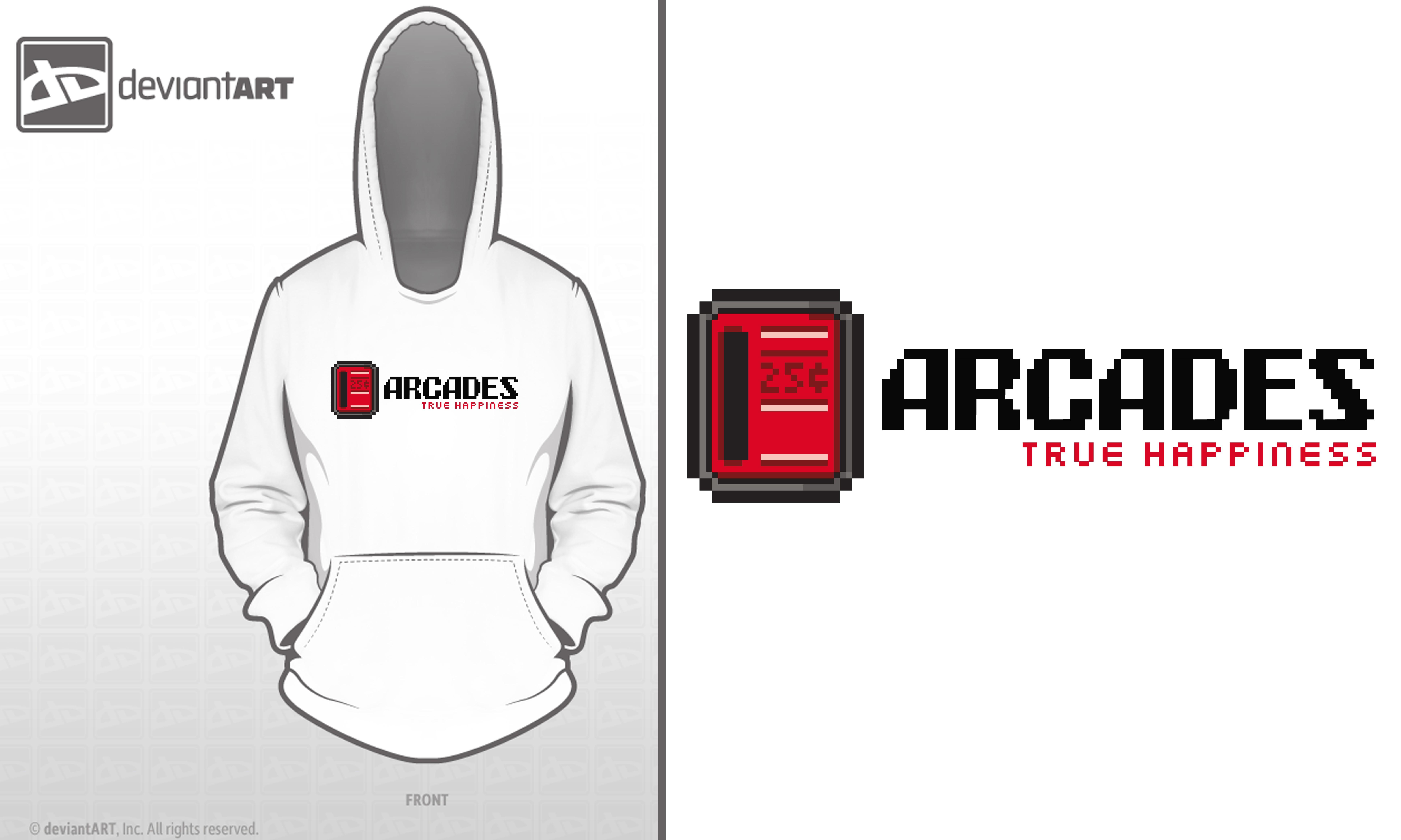 25cent arcades by reyjdesigns