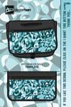 ReyjKing1 Cubism Design 1 Black Bag by reyjdesigns