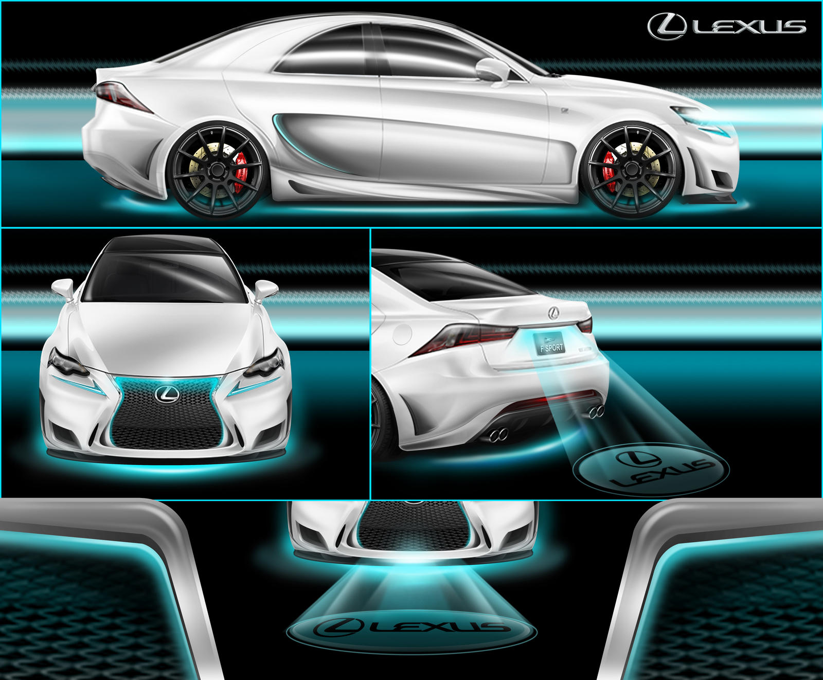 4/2-door Lexus Design Submission reyj by reyjdesigns