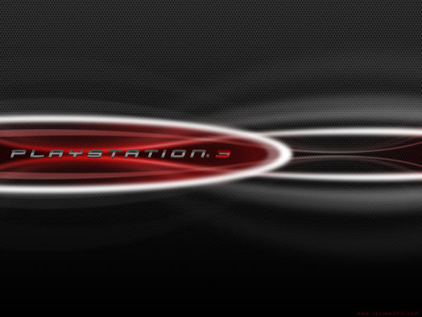 carbon wallpaper. PS3 Red Carbon Wallpaper by