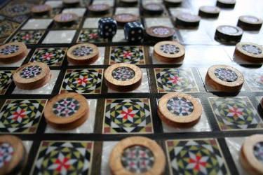 Checkers by BarGafri