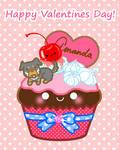 Amanda's cupcake