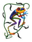 Oaxacan Tree Frog by JillianLambertArt