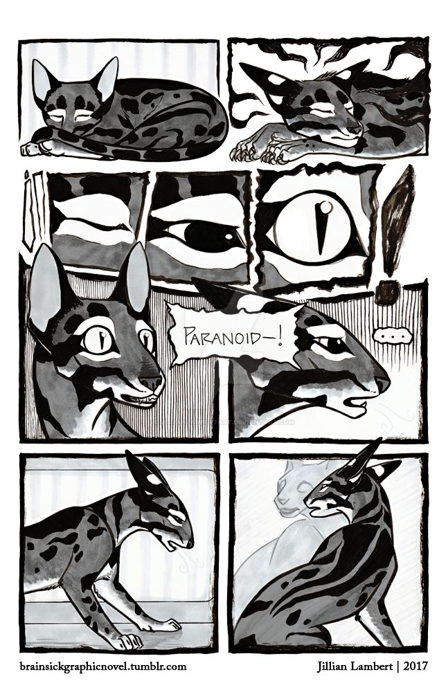 BRAINSICK | Lily's Nightmare | Page 01 by JillianLambertArt