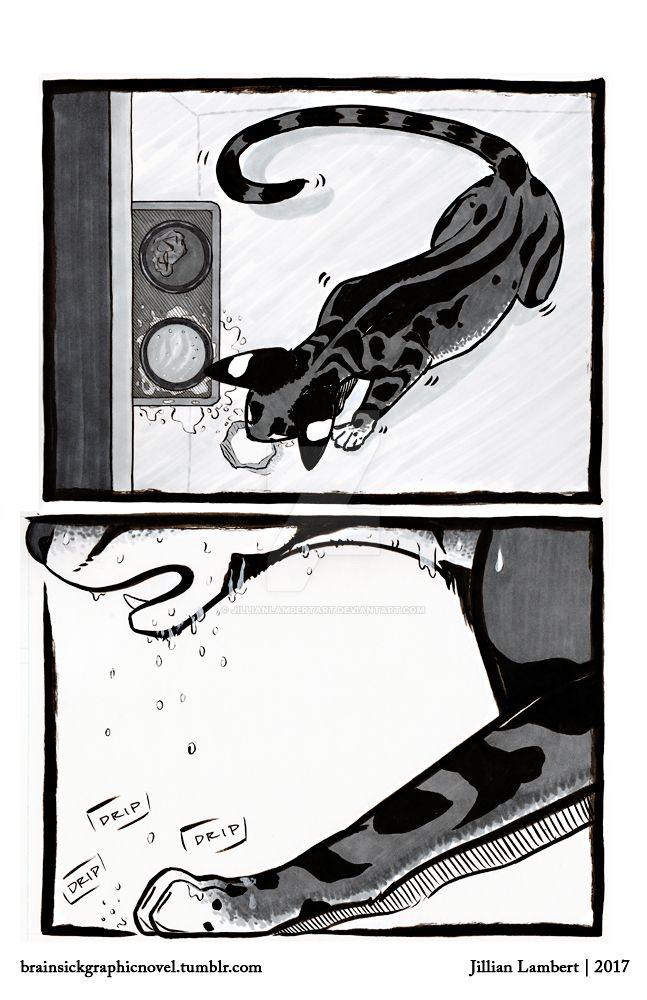 BRAINSICK | Lily's Nightmare | Page 04 by JillianLambertArt