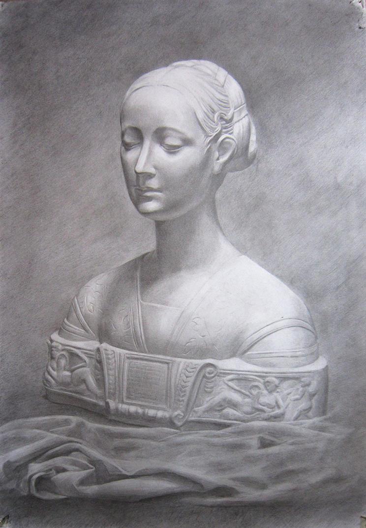 Princess of the house of Naples (Ippolita Sforza) by alverena