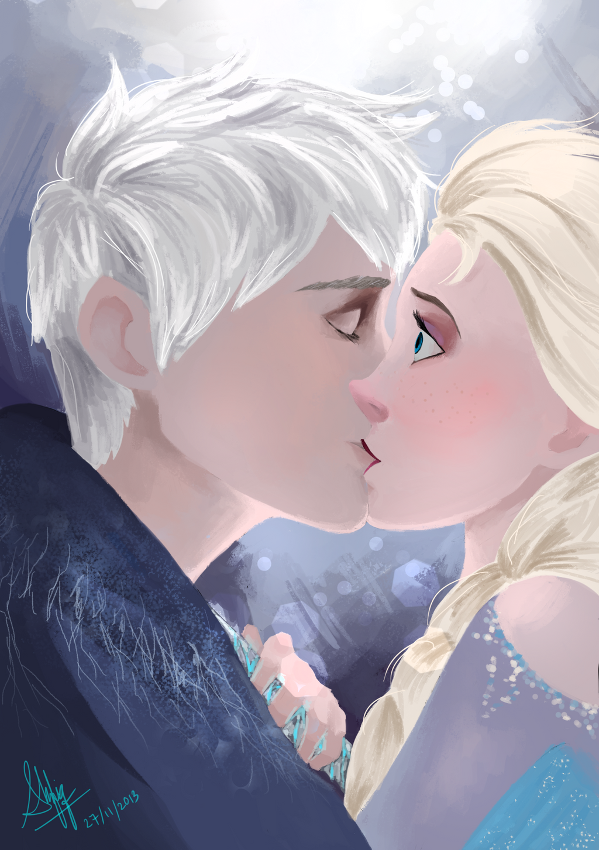 Jack and elsa icy kisses by shafiqsaya on deviantart jack and elsa icy kisses by shafiqsaya thecheapjerseys Choice Image