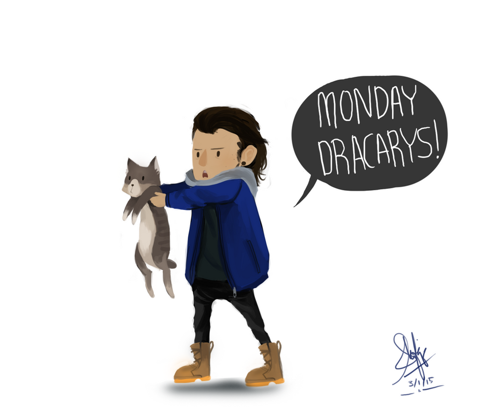 Quote Kitty Dracarys by shafiqsaya