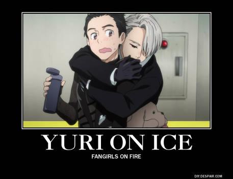 A Yuri on Ice Demotivational Poster