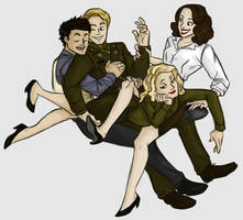 MARVEL: Friendship Pile by Shuggie