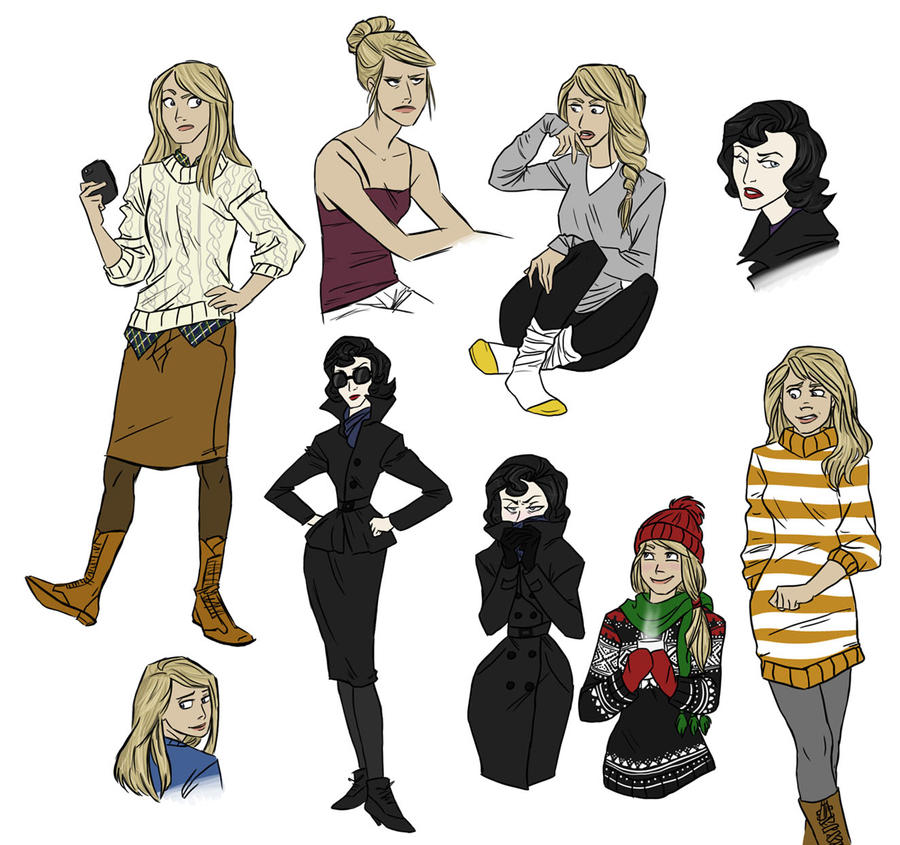Sherlock: fems by Shuggie