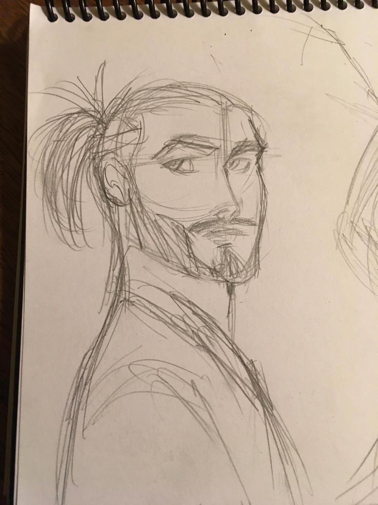 Random Asian dude by curiouscow273