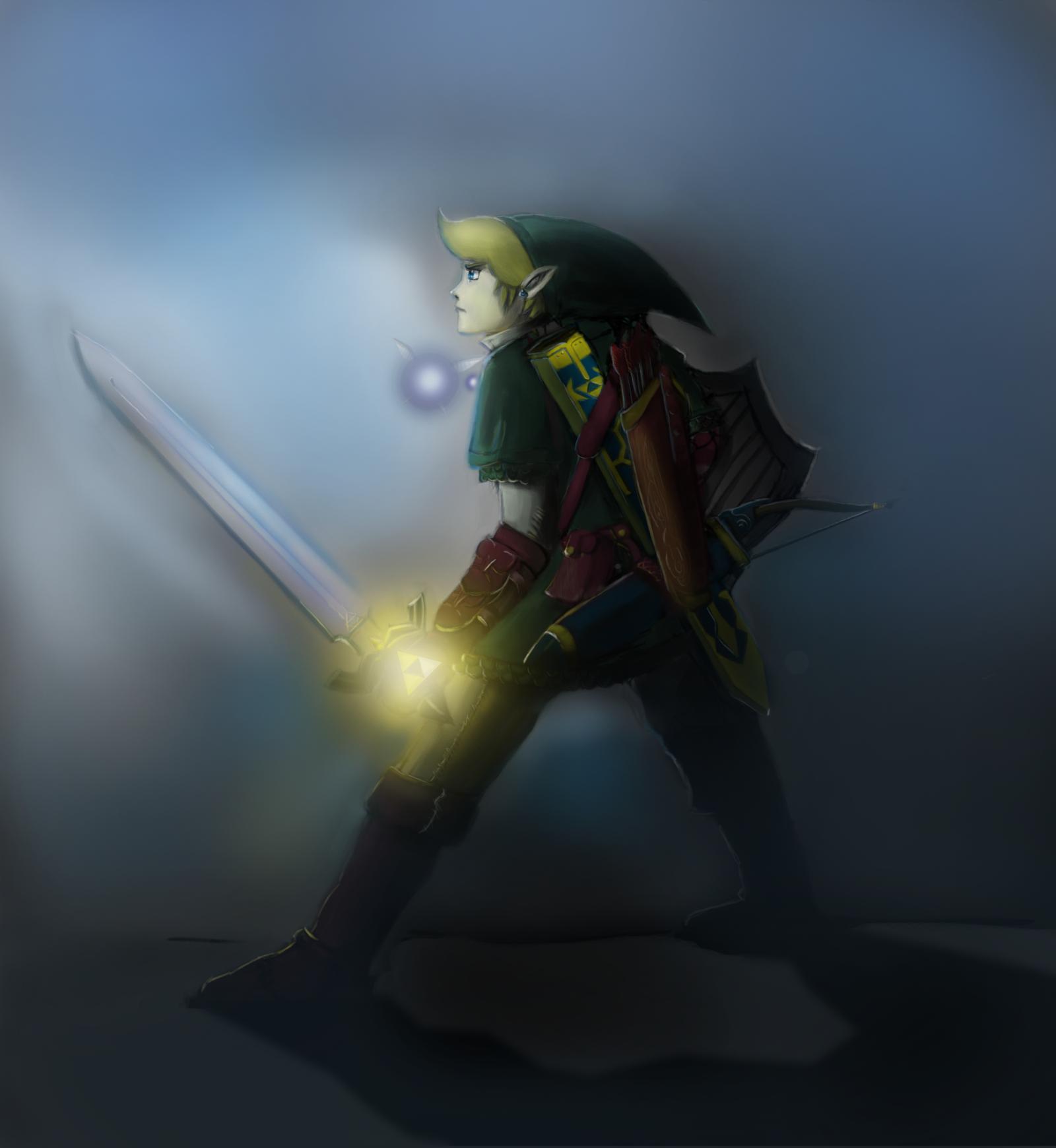 Hero of Hyrule by paledebaser
