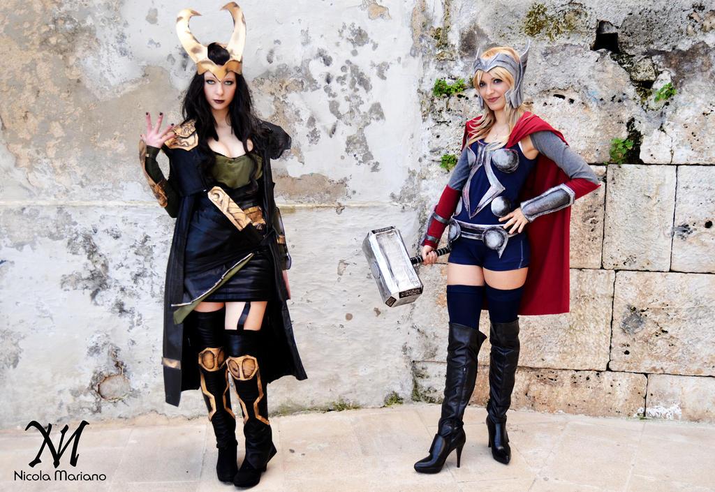 Thor And Loki by Moony-Cosplay on DeviantArt