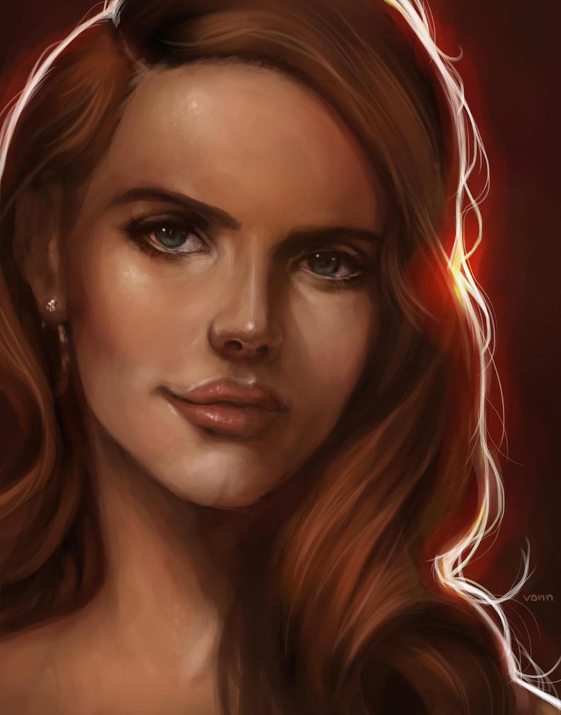 Lana Del Rey by Tvonn9